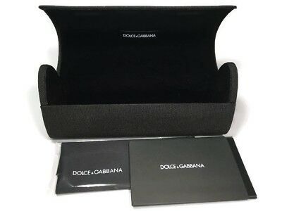 Dolce&Gabbana Eyeglasses Sunglasses w/Cloth Black Semi Rigid Case ONLY