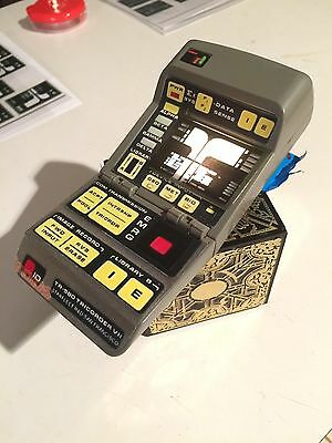 StAr TrEk TNG TRICORDER transparent print PROP EXCELENT playmates #2