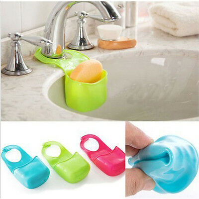 Home Basket Sponge Elastic Soap Kitchen Items Storage Gadget Shelf Organizer