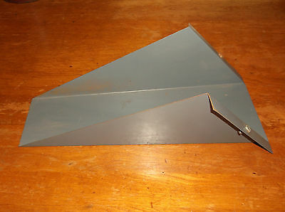"""Delta Rockwell 4"""" Jointer Stand Dust Chutes"""