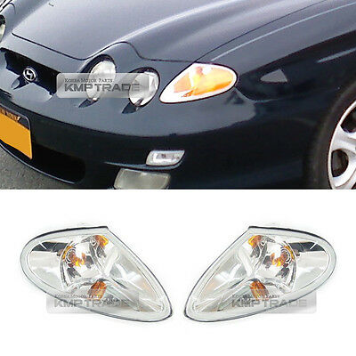OEM Front Head Light Turn Signal Lamp LH RH for HYUNDAI 1999-2001 Tiburon Coupe