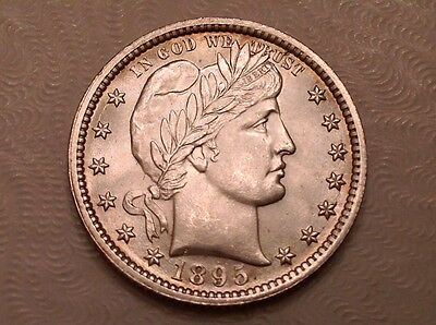 - 1895 United States Barber Quarter