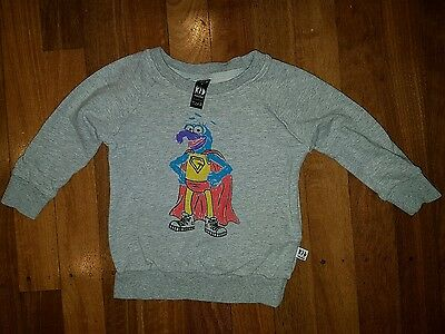Kid Culture designer baby boys gonzo jumper size 0 size 1