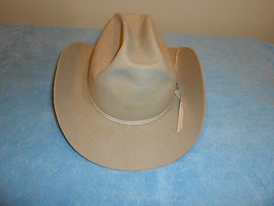 Stetson Luskeys Western Cowboy Hat Tan No Size Listed See Measurements