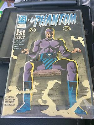 The Phantom Comic Book #1 DC Comics March 1989 1st Issue