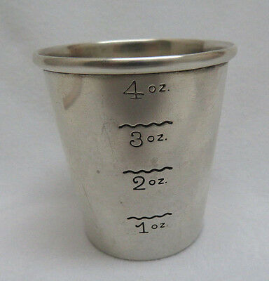 Newport Sterling Silver 4 oz. Cocktail Measuring Cup