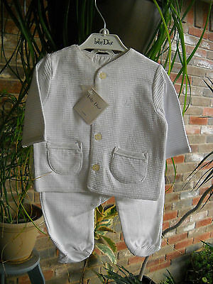 Baby Dior 3piece set size 3months NWT Long Sleeve 3 months