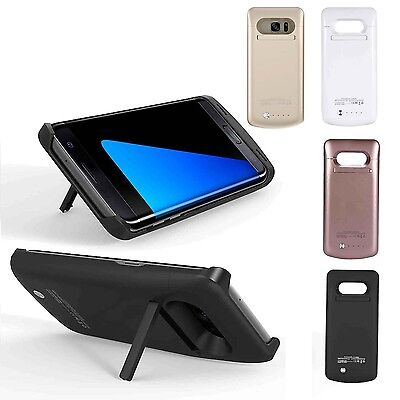 External Battery Case Charger Charging Cover Pack For Samsung Galaxy Phone UO