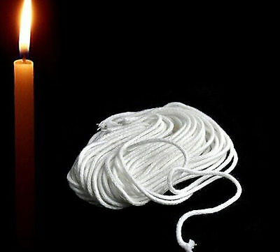 2mm * 10m Cotton Core Candle Making Wick Pillar Candles Cotton Line #A72