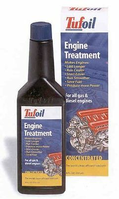 TUFOIL Engine treatment  Oil additive Lubricant for diesel & gas . 237 ml 8 oz.