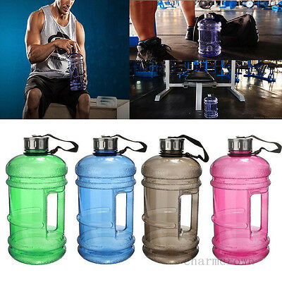 Mode Water Gallon 2200ml BPA Bouteille Eau Water Bottle Jug Gym Fitniss Workout