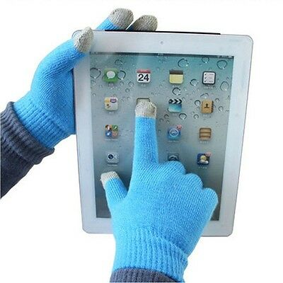Women Men Texting Capacitive Smartphone Knit Warm Winter Touch Screen Gloves