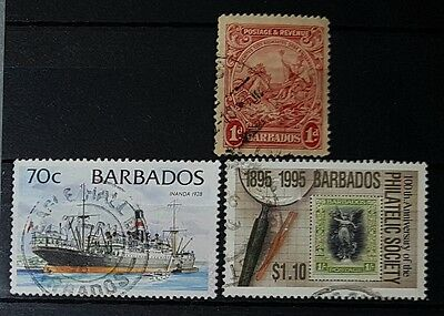 BARBADOS Mixed Used Stamps (No 839)