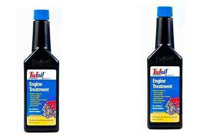 2 x TUFOIL Engine treatment  Oil additive Lubricant for diesel & gas 237 ml 8 oz