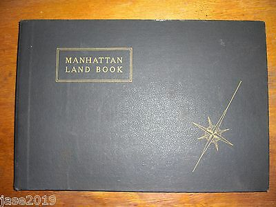 Manhattan Land Book of the City Of New York 1970 G.W.Bromley