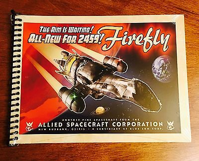 Firefly Loot Cargo Crate November 2016 - Serenity Blueprints Mini Book