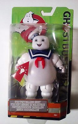 """Ghostbusters 6"""" """"Stay Puft"""" Marshmallow Man Light Up Figure New!"""
