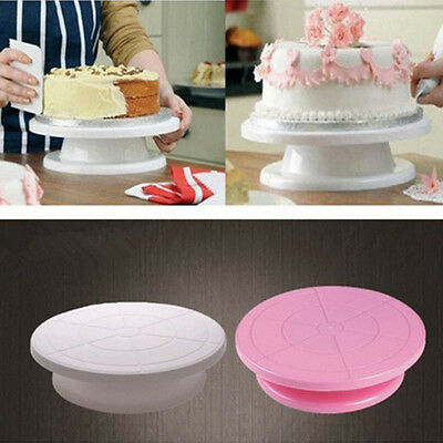 Cake Decorating Rotating Revolving Icing Kitchen Display Turntable Stand 28cm