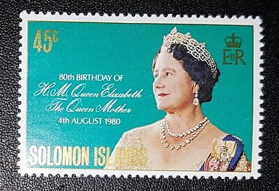 Solomon Islands 1980 Queen Mother's 80th Birthday SG421 MNH (No1484)