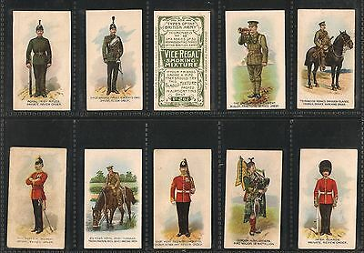 Wills, Australian Issue, TYPES OF THE BRITISH ARMY, Vice-Regal x45/50, VG, 1912