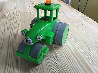 Roley the green steamroller Bob the Builder friction powered toy