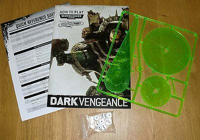Warhammer 40K How to Play guide, blast templates and dice - New
