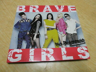 KOREA CD/Brave Girls - The Difference