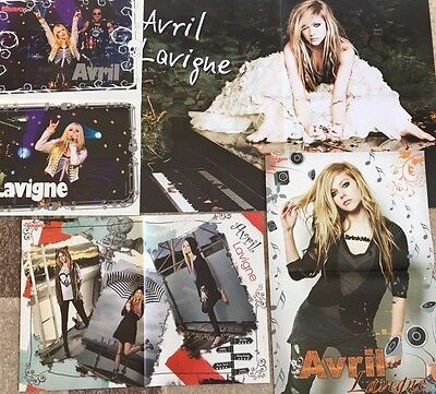 AVRIL LAVIGNE - Folded Magazine Posters from Europe