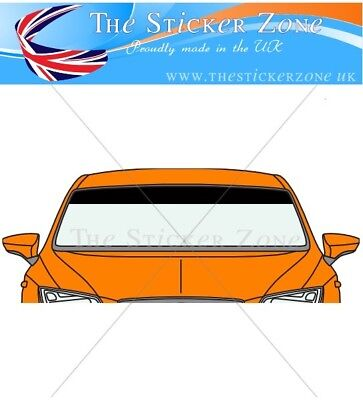 Windscreen Sunstrip vinyl sticker decal