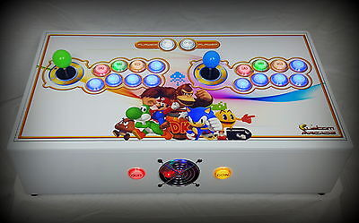 CUSTOM DESIGNED RETRO TABLE TOP ARCADE CONSOLE MK3 Ver2