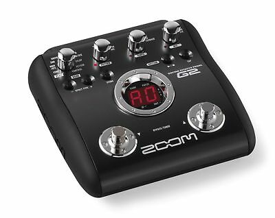 Zoom G2 Guitar Multi Effects Pedal Processor & Power Supply