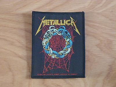 Metallica - Tangled Web (New) Sew On W-Patch Official Band Merch