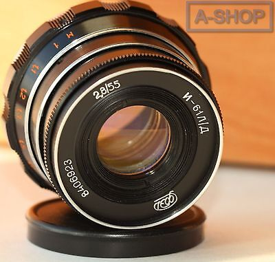 INDUSTAR-61 L/D 2.8/55 mm Leica lens M39 Zorki FED RF made in USSR