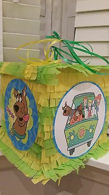 scooby doo Pinata with Sweets Birthday Party