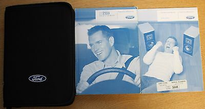 Ford Galaxy S-Max Handbook Owners Manual Wallet 2006-2010 Pack 13436