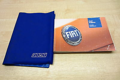 FIAT GRANDE PUNTO 2005-2009 Owners Manual Handbook with Wallet Pack