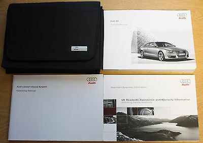 Genuine Audi A5 Coupe Handbook Owners Manual Wallet 2007-2011 Pack 13443