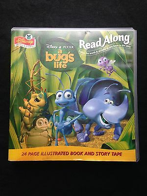 Disney A Bug's Life Read Along Audio Tape And Book