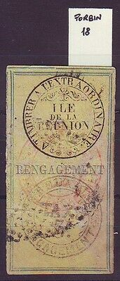 Revenue Stamp Isle of the Reunion