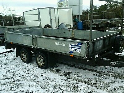 ifor williams dropside trailer 12x6.  no vat