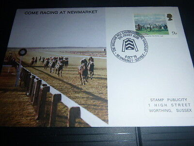 4 No Horse Racing First Day Covers 1979