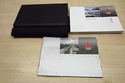 MITSUBISHI L200 2010-2014 Owners Manual Handbook & SERVICE BOOK with Wallet Pack