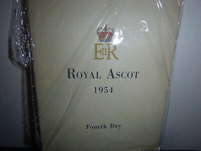 Royal Ascot Racecard  4Th Day 1954