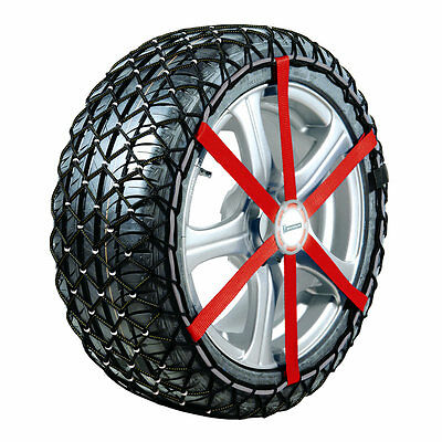 "NEW Michelin 2x Easy Grip Snow Chains R12 to fit various 15"" and 16"" Tyres"