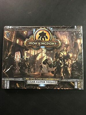 Iron Kingdoms Unleashed Game Master Toolkit by Privateer Press Miniatures