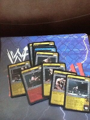 WWF WWE Raw Deal Survivor Series Ccg V2.1  Cards x30 Different
