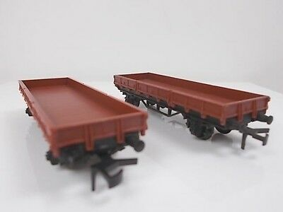 2 French Hornby acHO Open Wagons