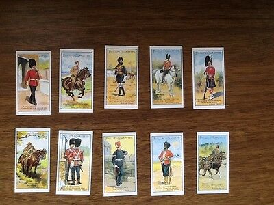 - TYPES OF BRITISH SOLDIERS 1900 (Set of 25 cards)