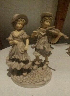 Border Fine Arts Figurine girl and boy gift high quality heavy detailed.