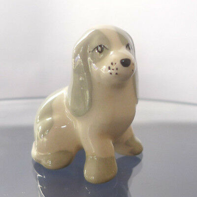 Small Ceramic Spaniel Dog - Made In England. Good Condition